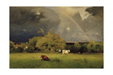 The Rainbow, C.1878-79 Giclee Print by George Snr. Inness