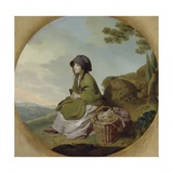 Market Girl (The Silver Age) C.1776-77 Giclee Print by Henry Walton
