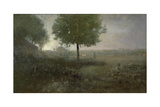 Misty Morning, Montclair, 1893 Giclee Print by George Snr. Inness