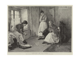 Consulting the Wise Woman Giclee Print by Henry Meynell Rheam