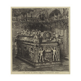 The Tomb of Henry Vii, in Westminster Abbey Giclee Print by Henry William Brewer