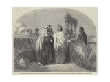 Christ with the Disciples in the Corn-Field Giclee Print by Henry Warren