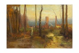 The Mill Stream, Montclair, New Jersey, C.1888 Giclee Print by George Snr. Inness