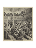 Sketch at Ned Wright's Thieves' Supper Giclee Print by Henry Towneley Green