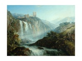 The Falls of Tivoli Giclee Print by Henry Dawson
