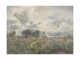 Showery June, Picardy, C.1870 Giclee Print by Henry Moore