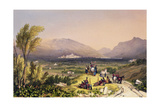 Plains of Vittoria, 1838 Giclee Print by Henry Wilkinson