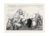 The Crusader's First Sight of Jerusalem Giclee Print by Henry Warren