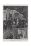 The English Pilgrims in Rome, Pope Leo XIII Receiving the Address Giclee Print by G.S. Amato