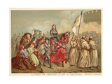 Entry of Joan of Arc into Orleans, 1429 Giclee Print by Henry Scheffer