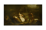 The Contention of Oberon and Titania for the Indian Boy Giclee Print by Henry Howard