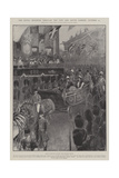 The Royal Progress Through the City and South London, 25 October Giclee Print by Henry Charles Seppings Wright