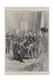 The Accession of the King of Spain, Celebrations at Madrid Giclee Print by G.S. Amato