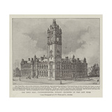 The Town Hall, Pietermaritzburg, Totally Destroyed by Fire Last Week Giclee Print by Henry William Brewer