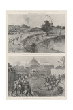 The Capture of Yola, Benin, in Northern Nigeria, on 2 September Giclee Print by Henry Charles Seppings Wright