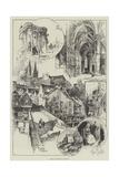Rambling Sketches, Chartres Giclee Print by Herbert Railton