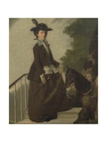 Mrs. Edward Bridgeman Giclee Print by Henry Walton