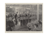 The Duke of Connaught Laying the Foundation-Stone of the New Schools of the Royal Masonic Instituti Giclee Print by Henry Charles Seppings Wright