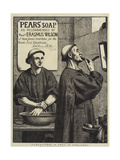 Advertisement, Pears' Soap Giclee Print by Henry Stacey Marks