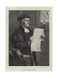 The Man of Law, from the Royal Academy Exhibition Giclee Print by Henry Stacey Marks