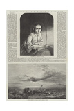 Exhibition of the British Institution Giclee Print by Henry Le Jeune