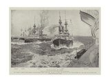 The Naval Manoeuvres, the Gridiron Giclee Print by Henry Charles Seppings Wright