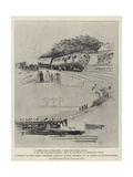 Accident to the Great Northern Railway Scotch Express at St Neots, Huntingdonshire Giclee Print by Henry Charles Seppings Wright