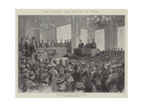 The Dreyfus Court-Martial at Rennes Giclee Print by Henry Charles Seppings Wright
