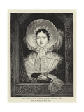 Her Majesty in St George's Chapel, Windsor, 1846 Giclee Print by Henry Dawe