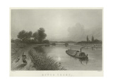 River Trent Giclee Print by Henry Warren
