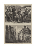 Scenes in France Giclee Print by Henry Woods