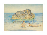 The Sunbathers, 1921 Giclee Print by Henry Scott Tuke