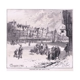 Cheapside Ad 1660 Giclee Print by Herbert Railton