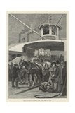 America Revisited by Our Special Artist, Fulton Ferry, New York Giclee Print by Henry Charles Seppings Wright