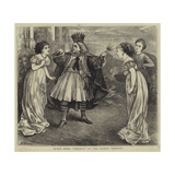 Scene from Thespis at the Gaiety Theatre Giclee Print by Henry Woods