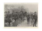The Funeral of President Mckinley Giclee Print by G.S. Amato