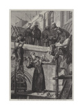 The Franciscan Sculptor Giclee Print by Henry Stacey Marks