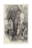 Bi-Centenary of Henry Purcell, the Tomb in Westminster Abbey Giclee Print by Herbert Railton