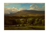 Medway, Massachusetts, 1869 Giclee Print by George Snr. Inness