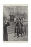 The Prince of Wales's Visit to Germany for the Kaiser's Birthday Giclee Print by G.S. Amato