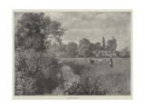 An English Pastoral Giclee Print by Henry John Yeend King