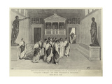 Julius Caesar at Her Majesty's Theatre Giclee Print by Henry Marriott Paget