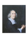 Portrait of Gian Lorenzo Bernini Giclee Print by Il Baciccio