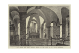 New Chapel for Early Morning Service in the Crypt of St Paul's Cathedral Giclee Print by Henry William Brewer