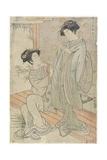 Red Giclee Print by Isoda Koryusai