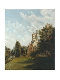 Cliffe Castle, 1883 Giclee Print by J. Clarke