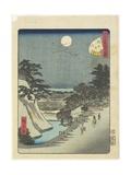 No.47 Sakurada Gate, June 1861 Giclee Print by Hiroshige II