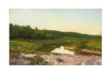 By the Water's Edge Giclee Print by Isaak Ilyich Levitan