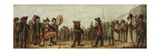 The Dancing Bear Giclee Print by Henry William Bunbury