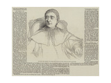 Obituary of Eminent Persons Recently Deceased Giclee Print by Hippolyte Delaroche